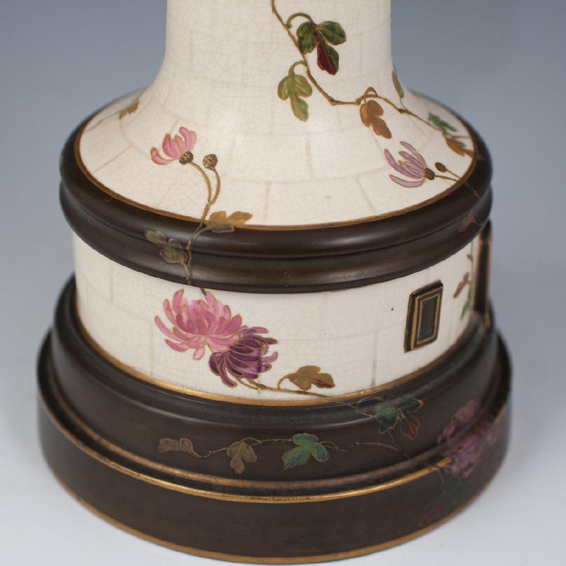 Antique Porcelain Lighthouse Clock/Barometer - 2