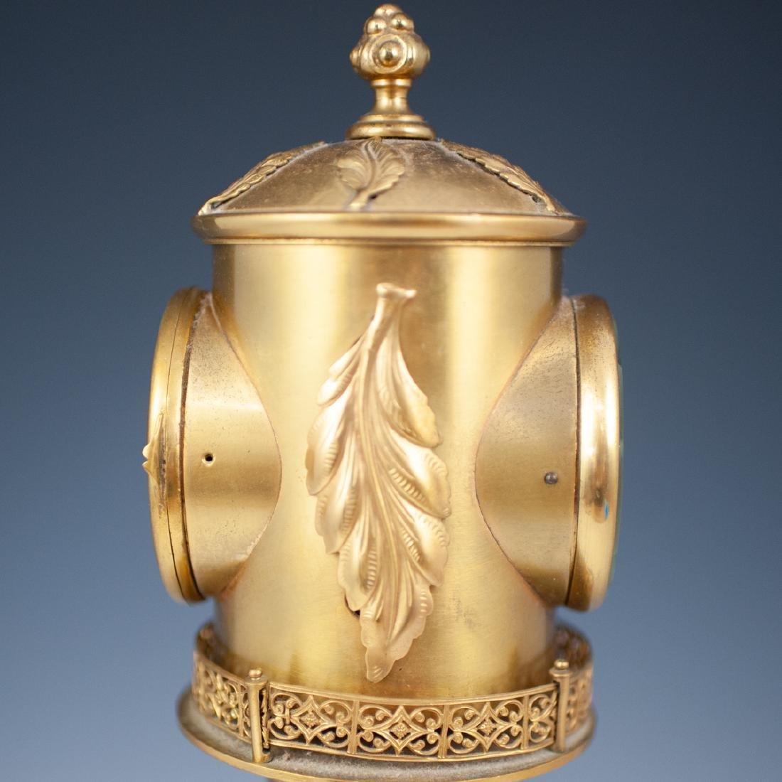 Antique Porcelain Lighthouse Clock/Barometer - 6