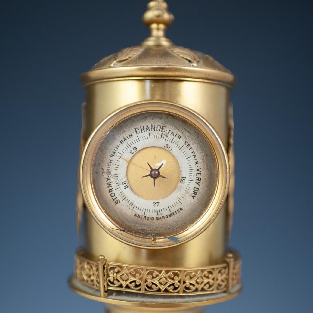 Antique Porcelain Lighthouse Clock/Barometer - 7