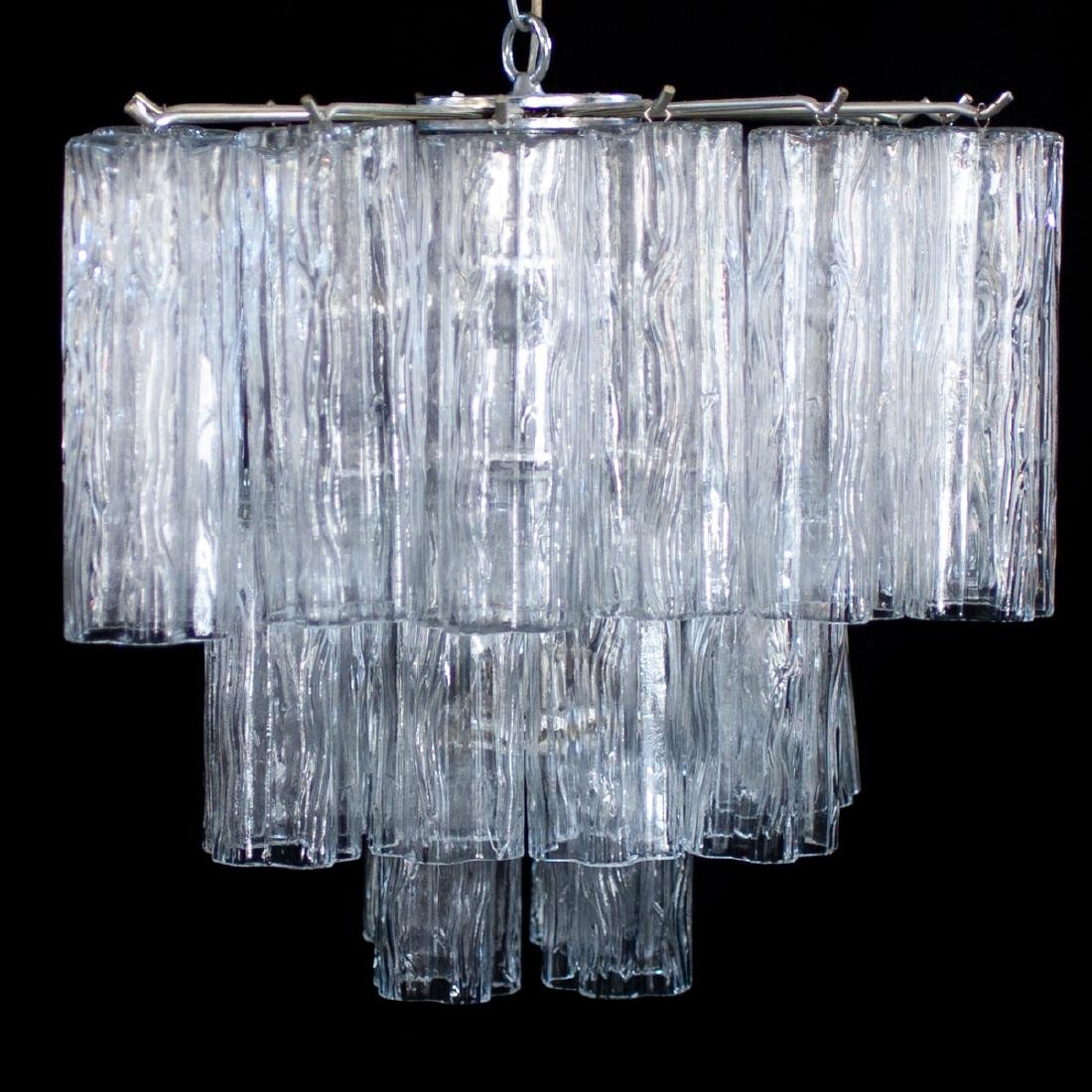Vintage Camer Murano Glass Chandelier - 2