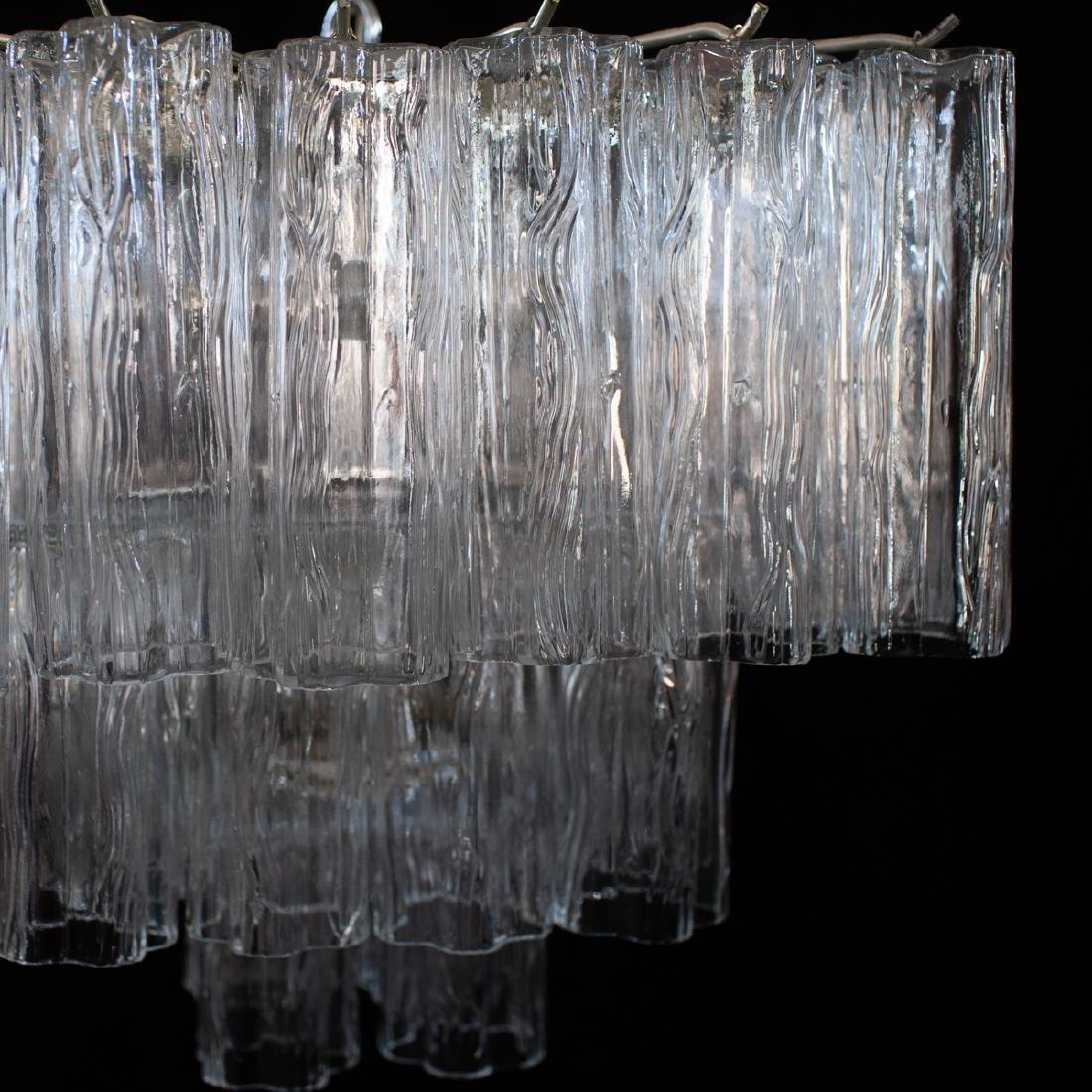 Vintage Camer Murano Glass Chandelier - 4