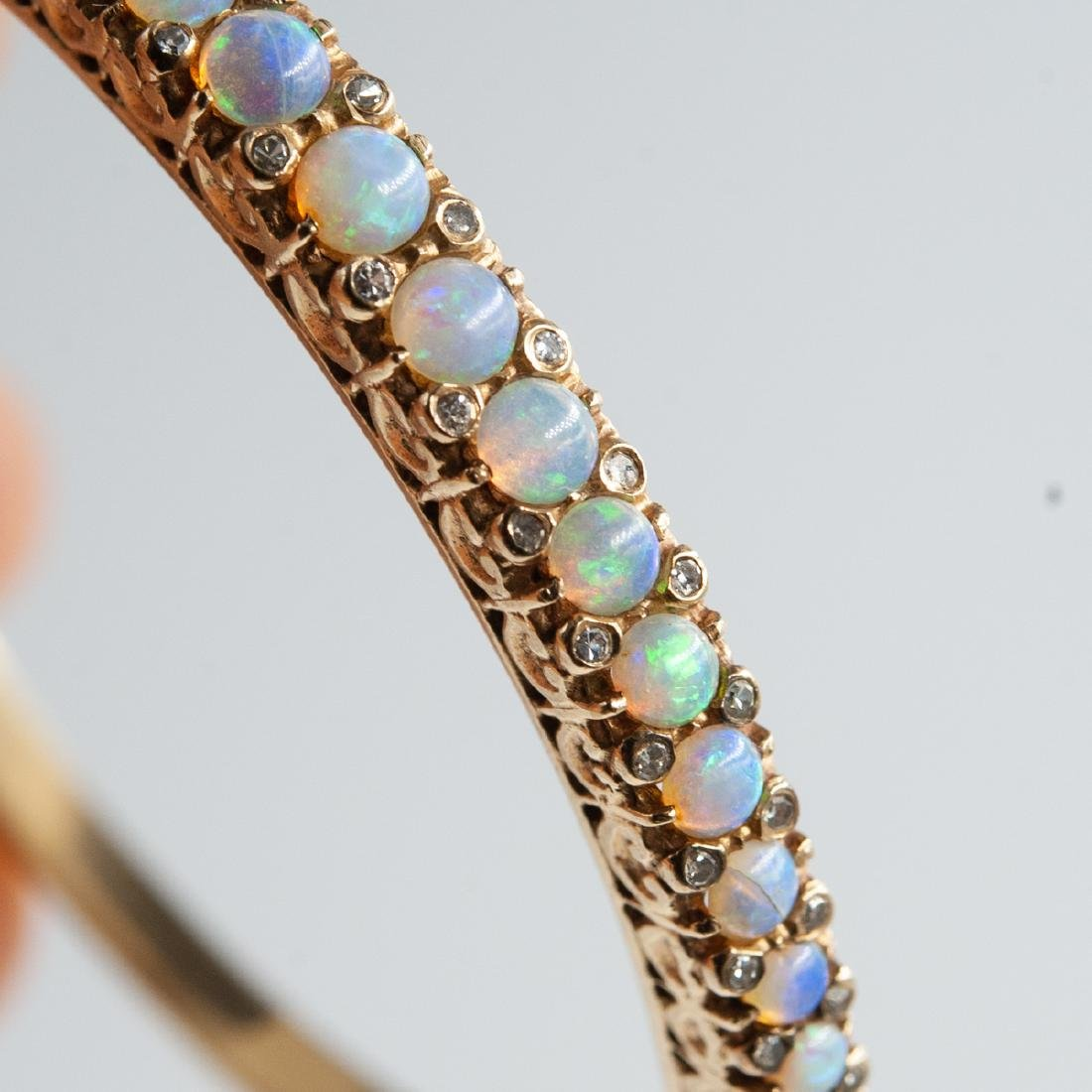 14K Gold & Opal Jewelry Set - 2