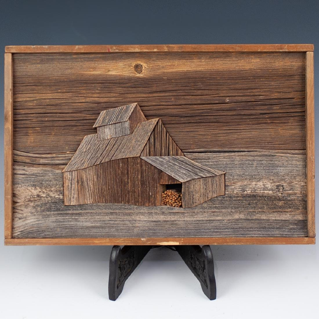 John W. Long Mixed Wood Panel
