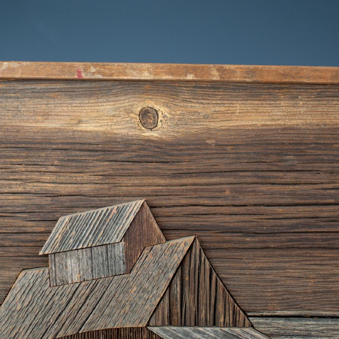 John W. Long Mixed Wood Panel - 3
