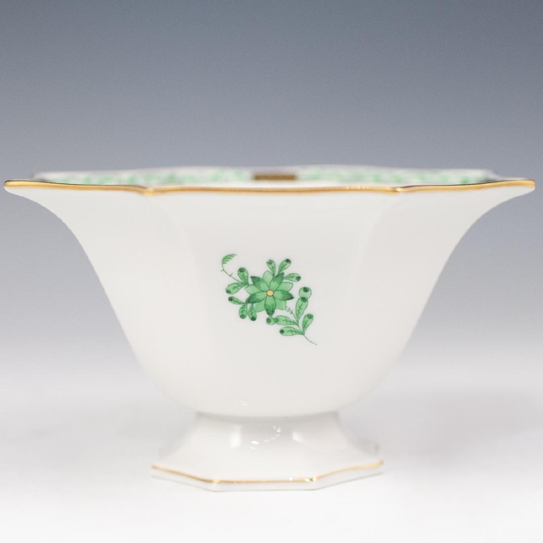 "Herend ""Apponyi Verte"" Porcelain Bowl"