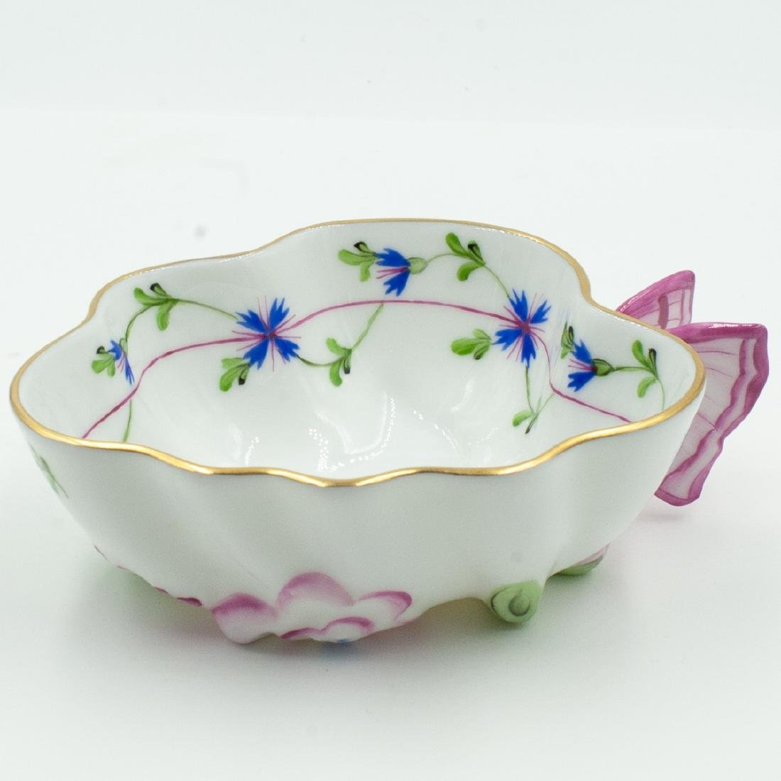 Herend Porcelain Leaf Dish