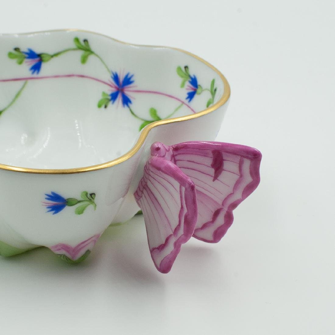 Herend Porcelain Leaf Dish - 2
