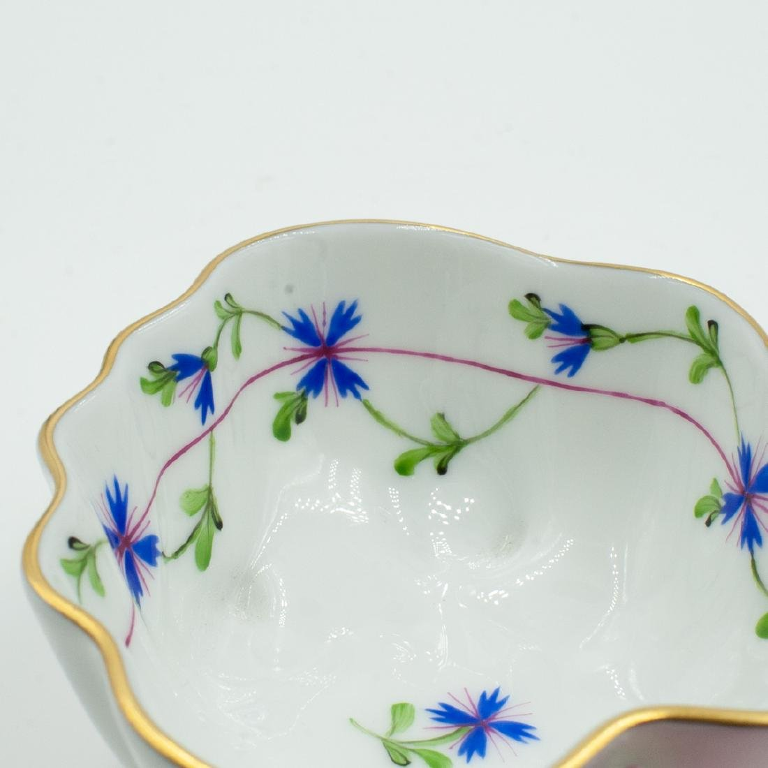 Herend Porcelain Leaf Dish - 3
