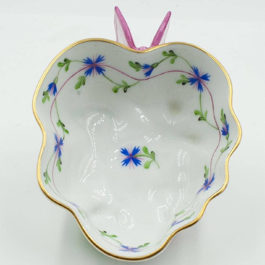 Herend Porcelain Leaf Dish - 5