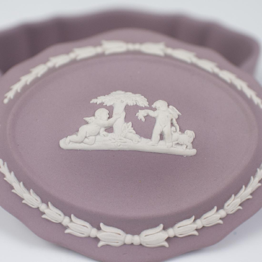 Wedgwood Lilac Jasperware - 2