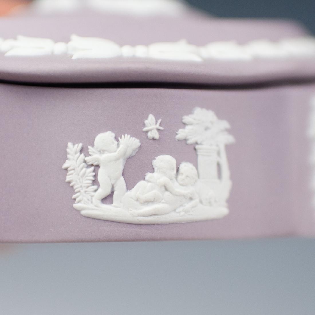 Wedgwood Lilac Jasperware - 3