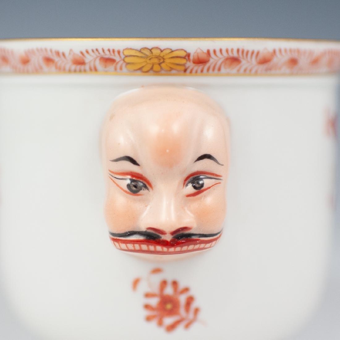Herend Double Face Porcelain Cache Pot - 3