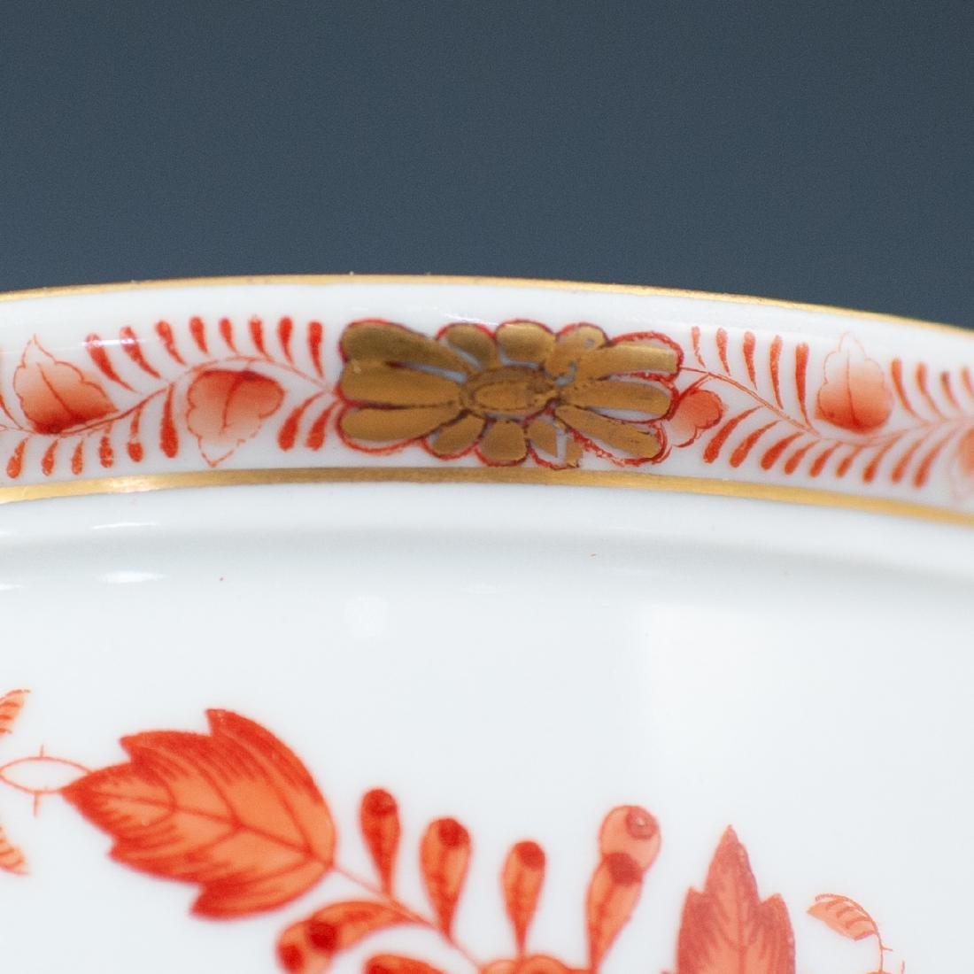 Herend Double Face Porcelain Cache Pot - 4