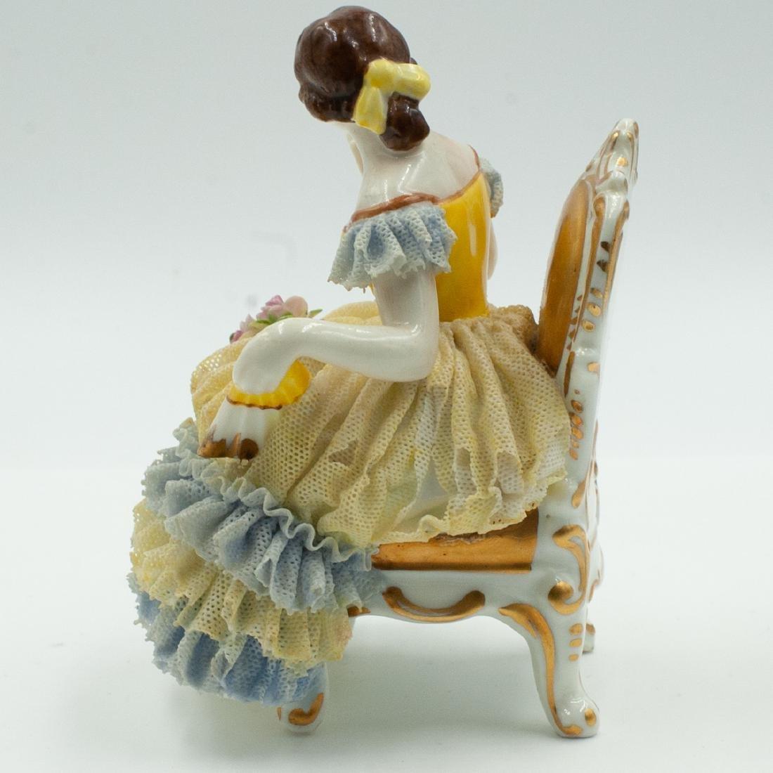 Dresden Porcelain Figurine - 3