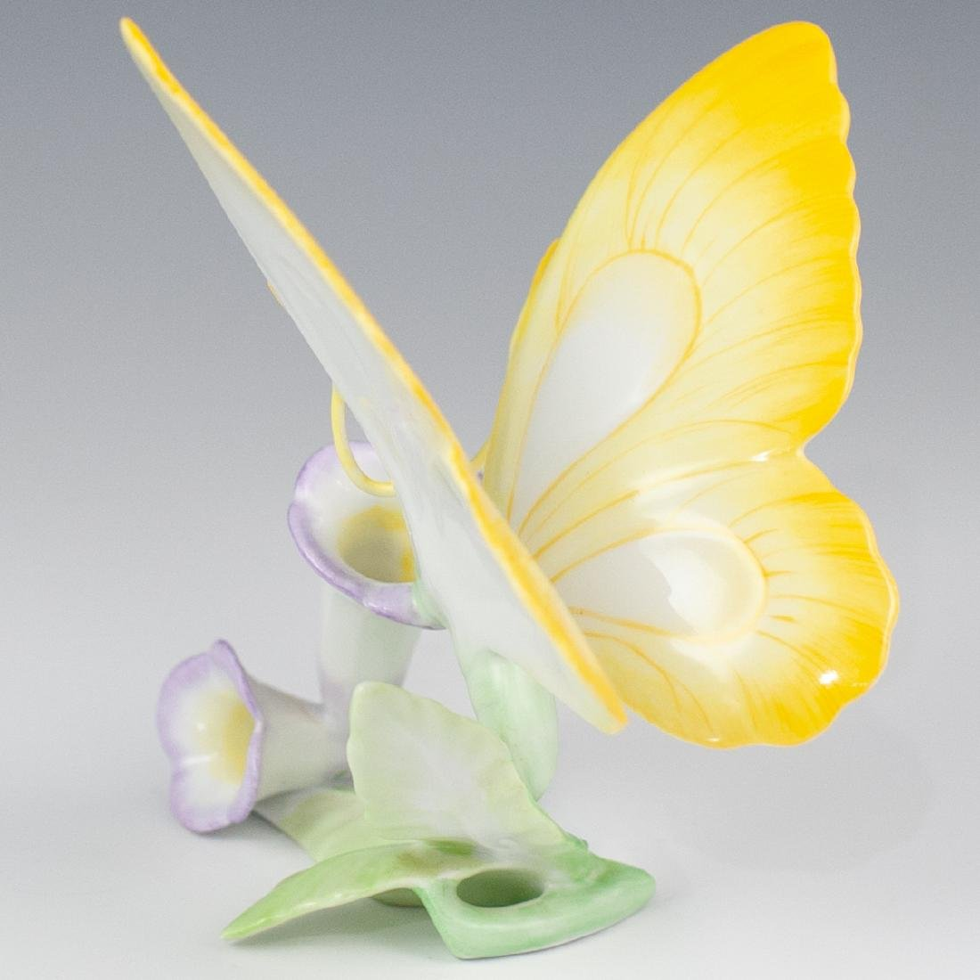 Herend Porcelain Tulip Butterfly