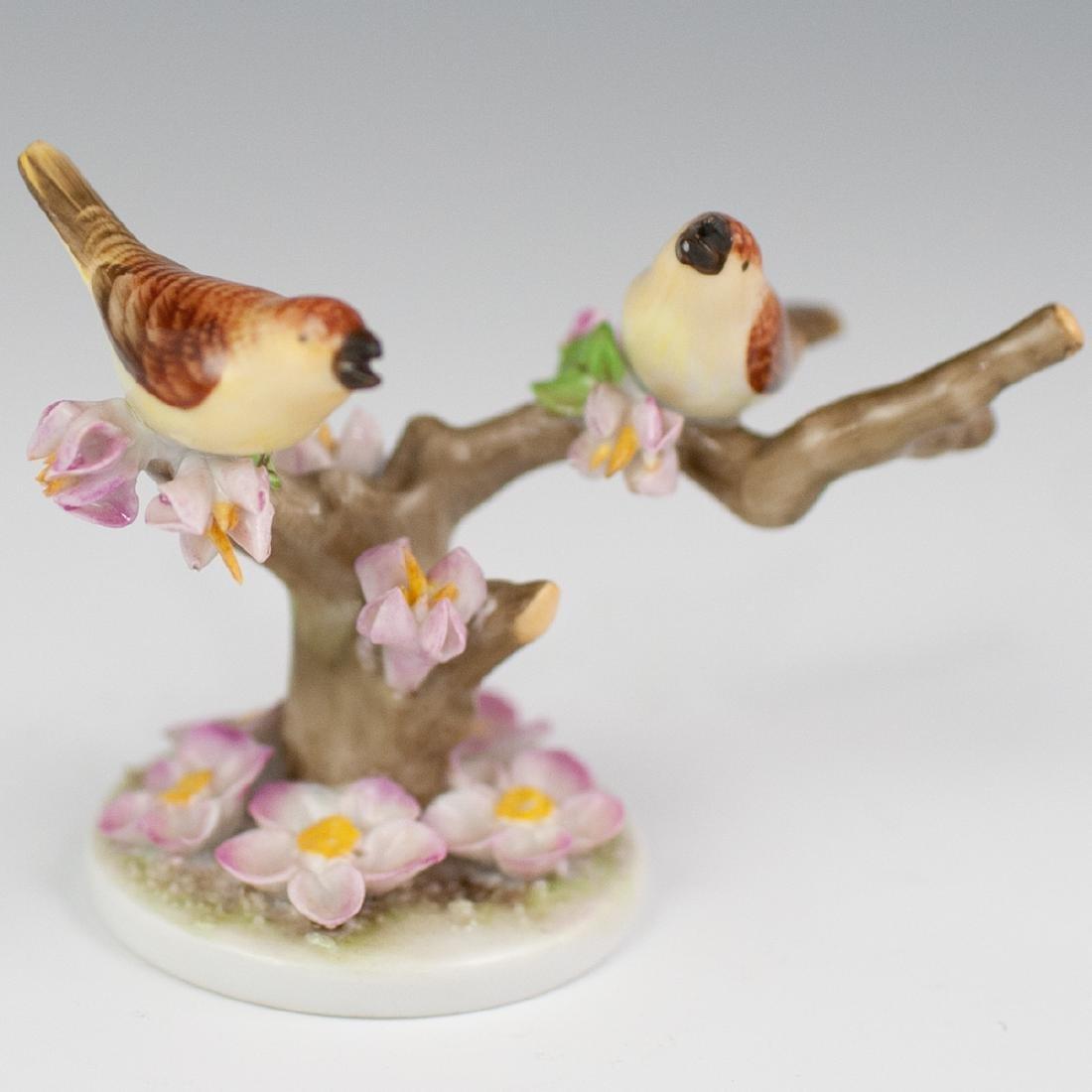 Herend Brown Birds Porcelain