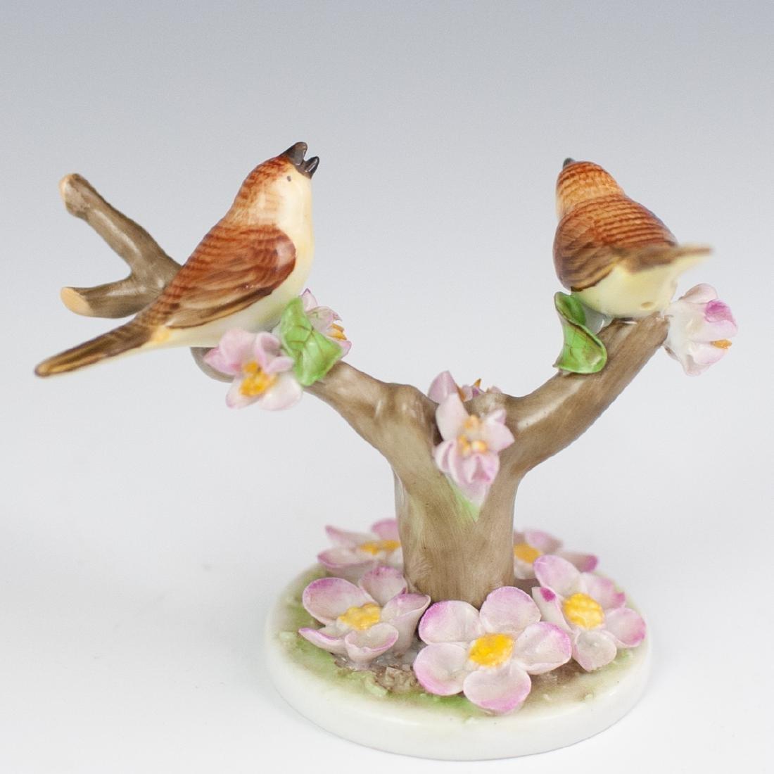 Herend Brown Birds Porcelain - 3