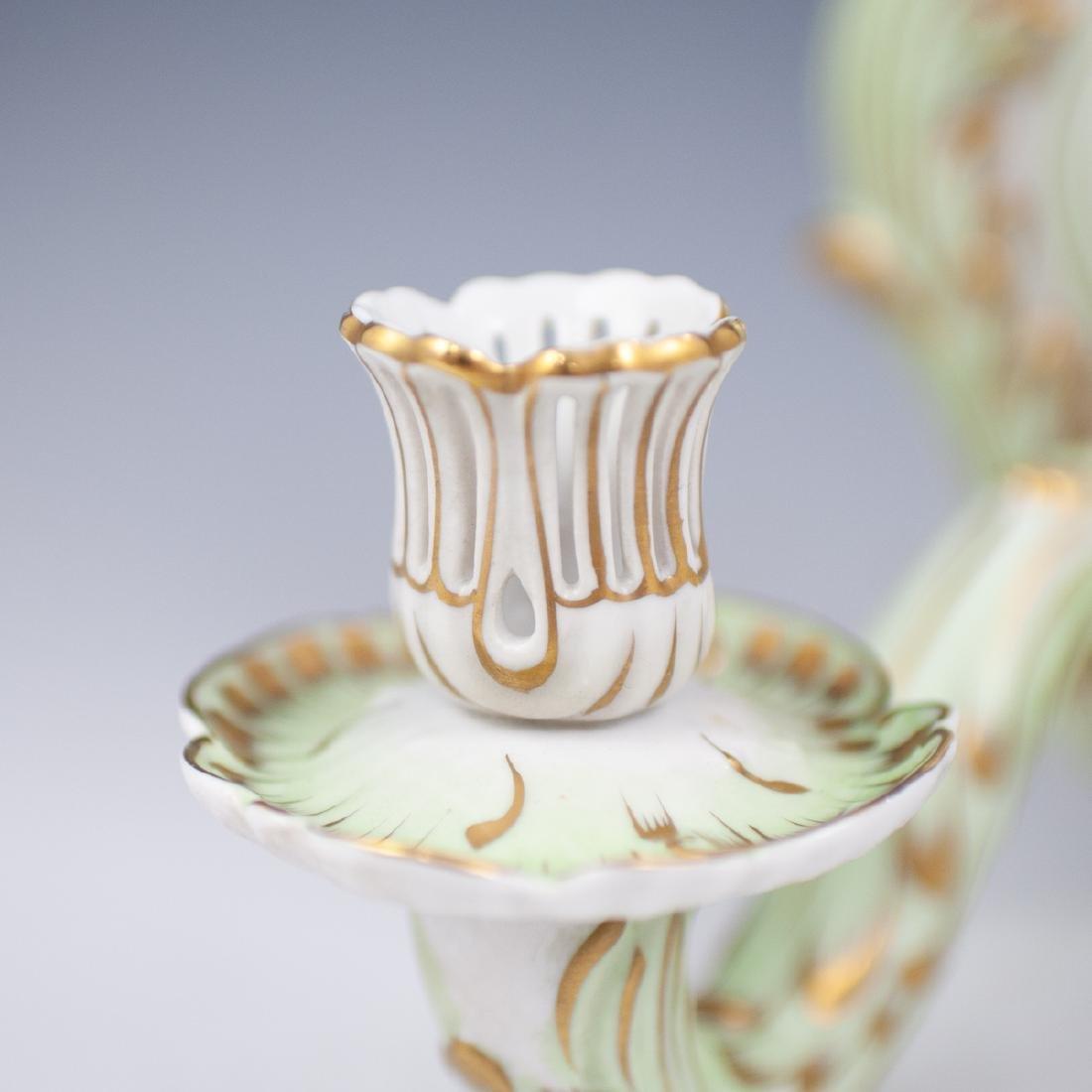 "Herend Porcelain ""Queen Victoria"" Sconce - 3"