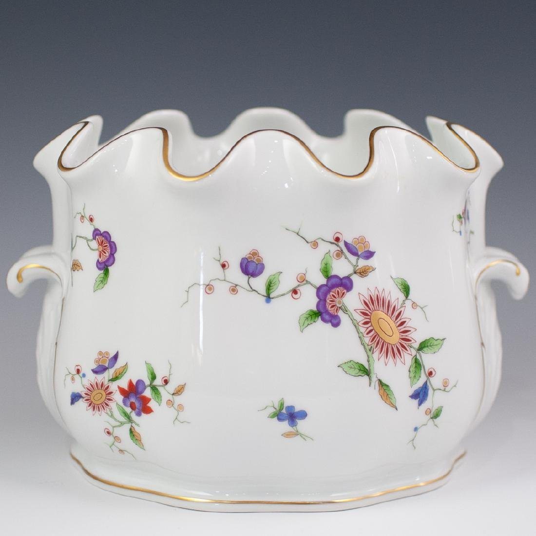 Richard Ginori Porcelain Cache Pot