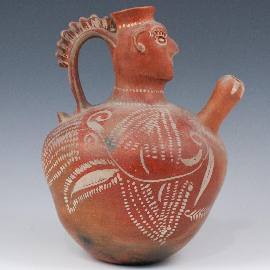 Pre-Columbian Water Vessel - 4