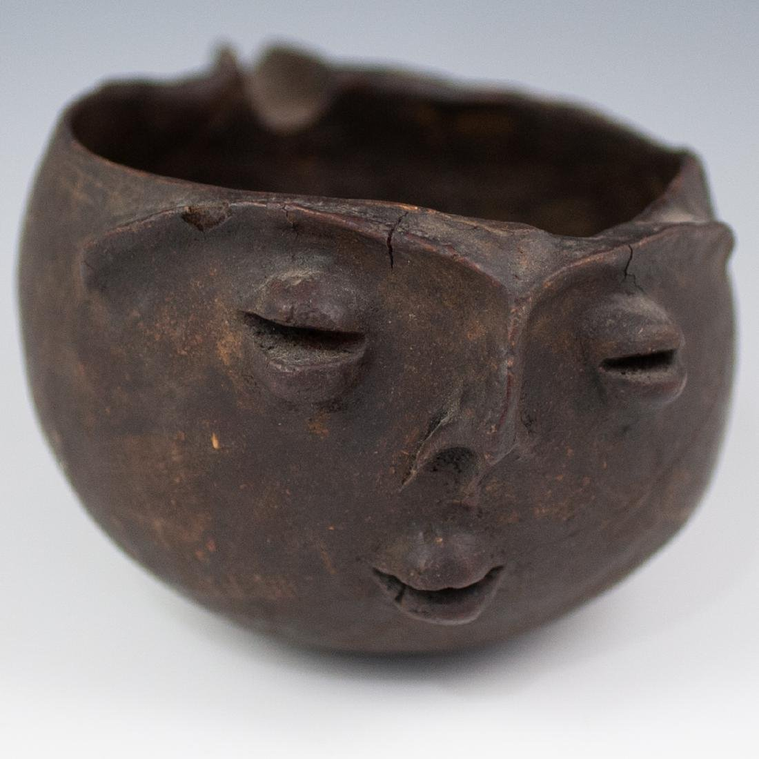 Pre-Columbian Wooden Pouring Vessel