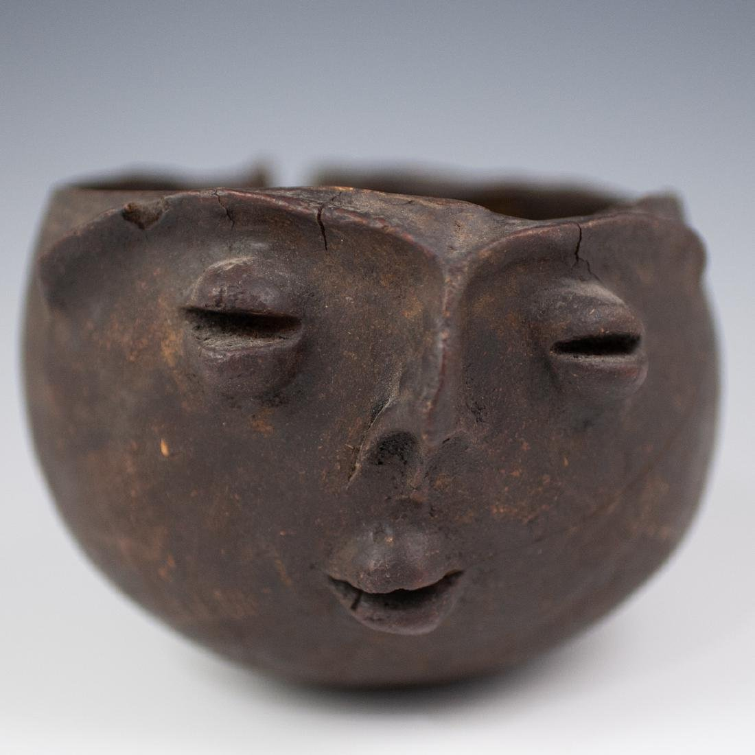 Pre-Columbian Wooden Pouring Vessel - 2