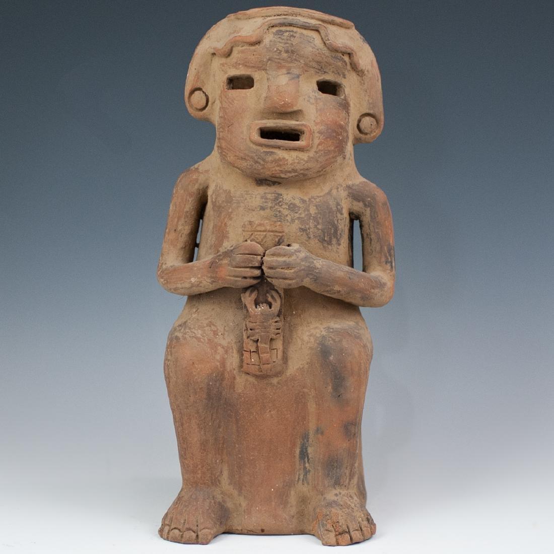 Pre-Columbian Ceramic Effigy