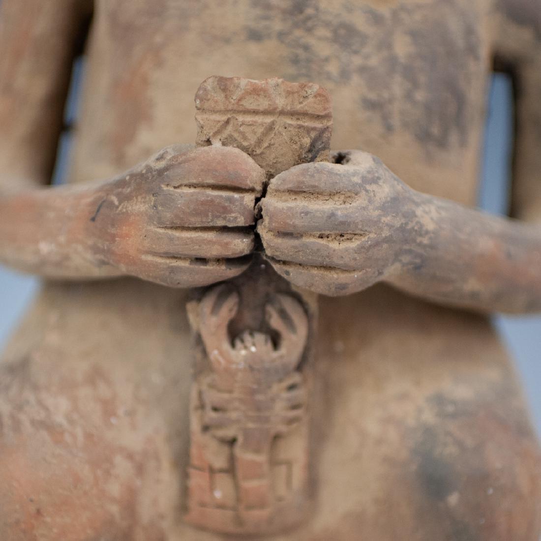Pre-Columbian Ceramic Effigy - 3