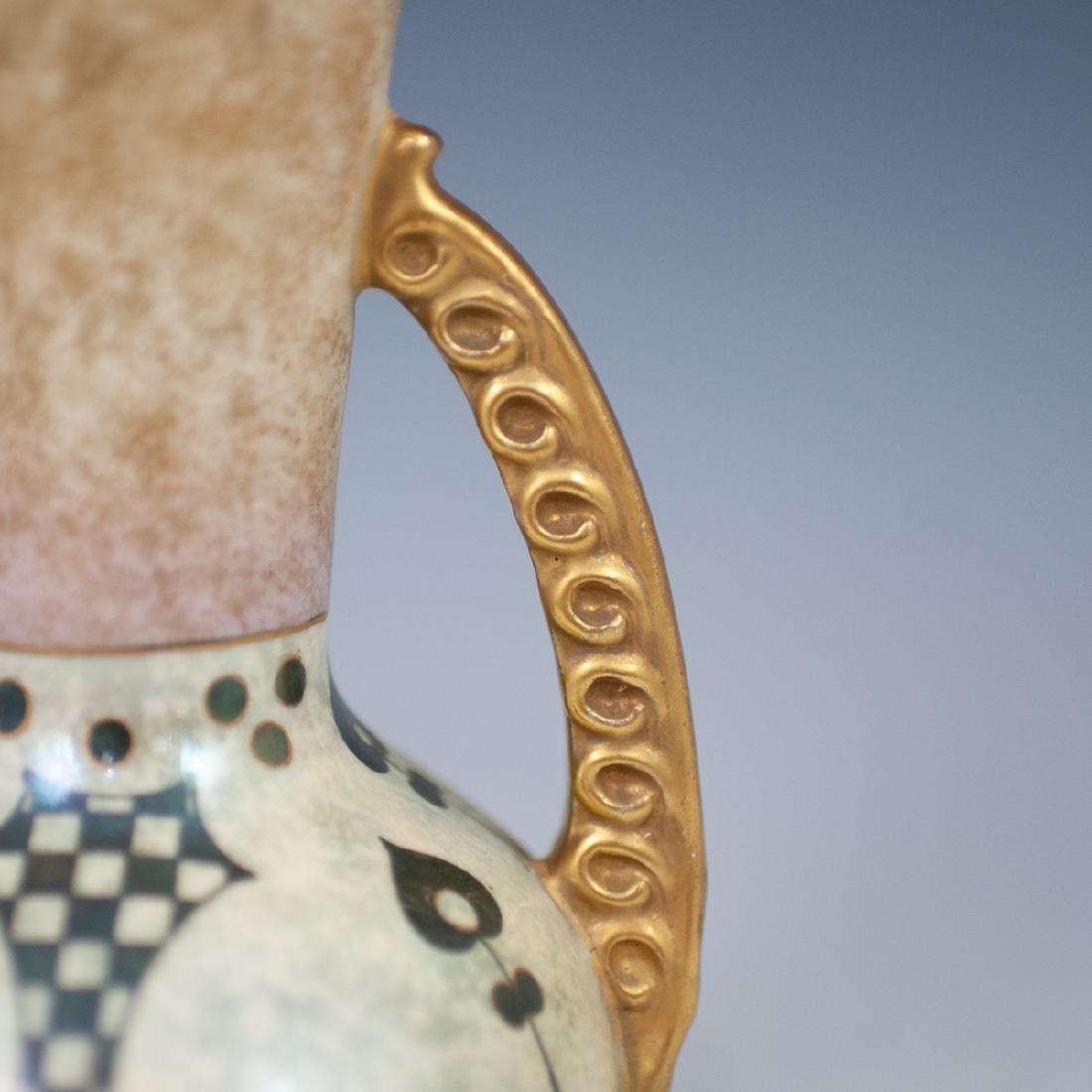 Royal Copenhagen Porcelain Double Handle Vase - 3