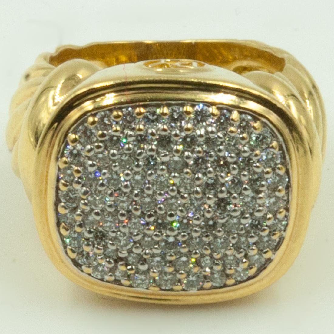 David Yurman Diamond Ring
