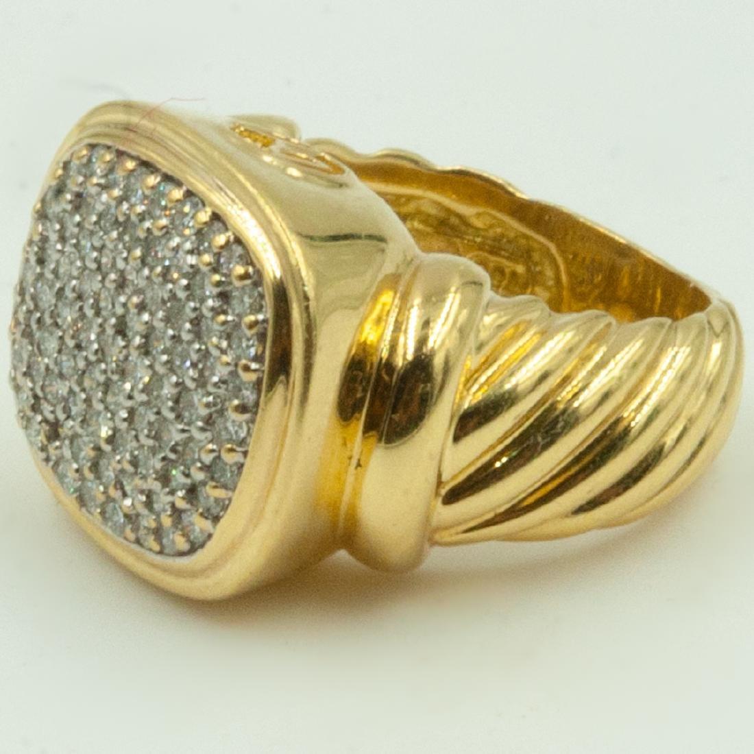 David Yurman Diamond Ring - 2