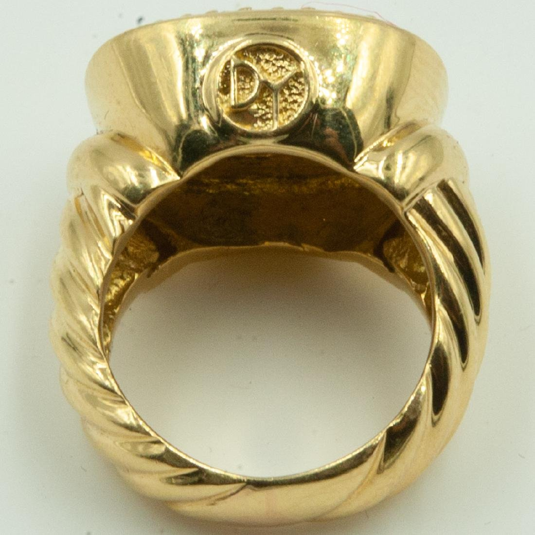 David Yurman Diamond Ring - 4
