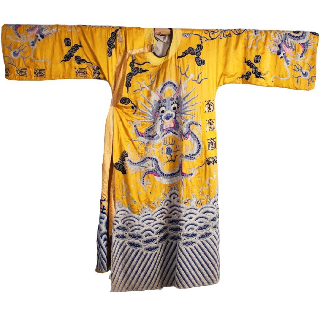 Chinese Silk Dragon Hanfu