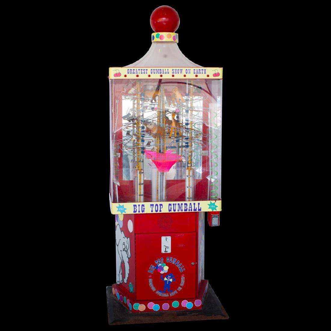 Vintage Big Top Gumball Machine