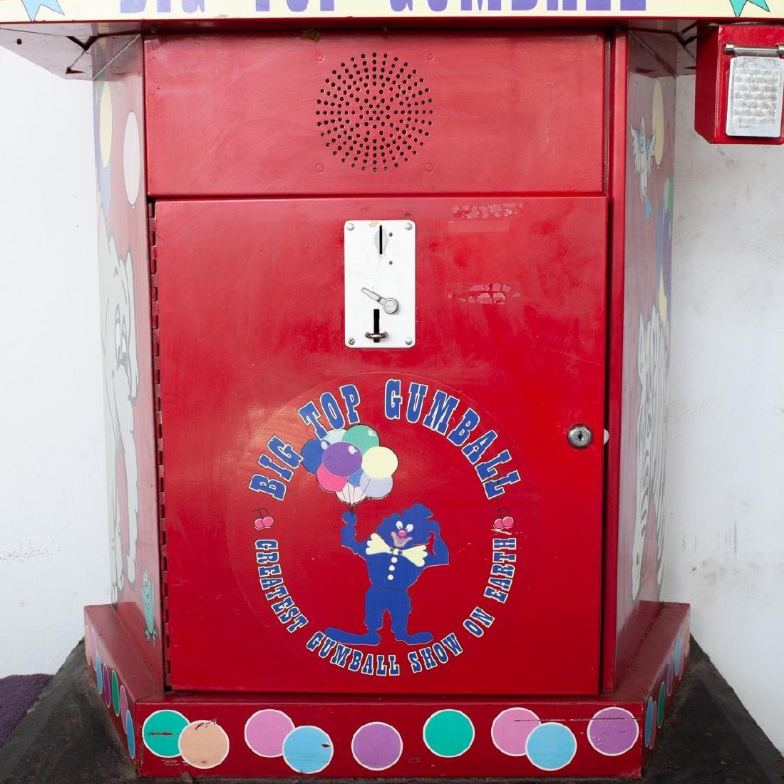 Vintage Big Top Gumball Machine - 4