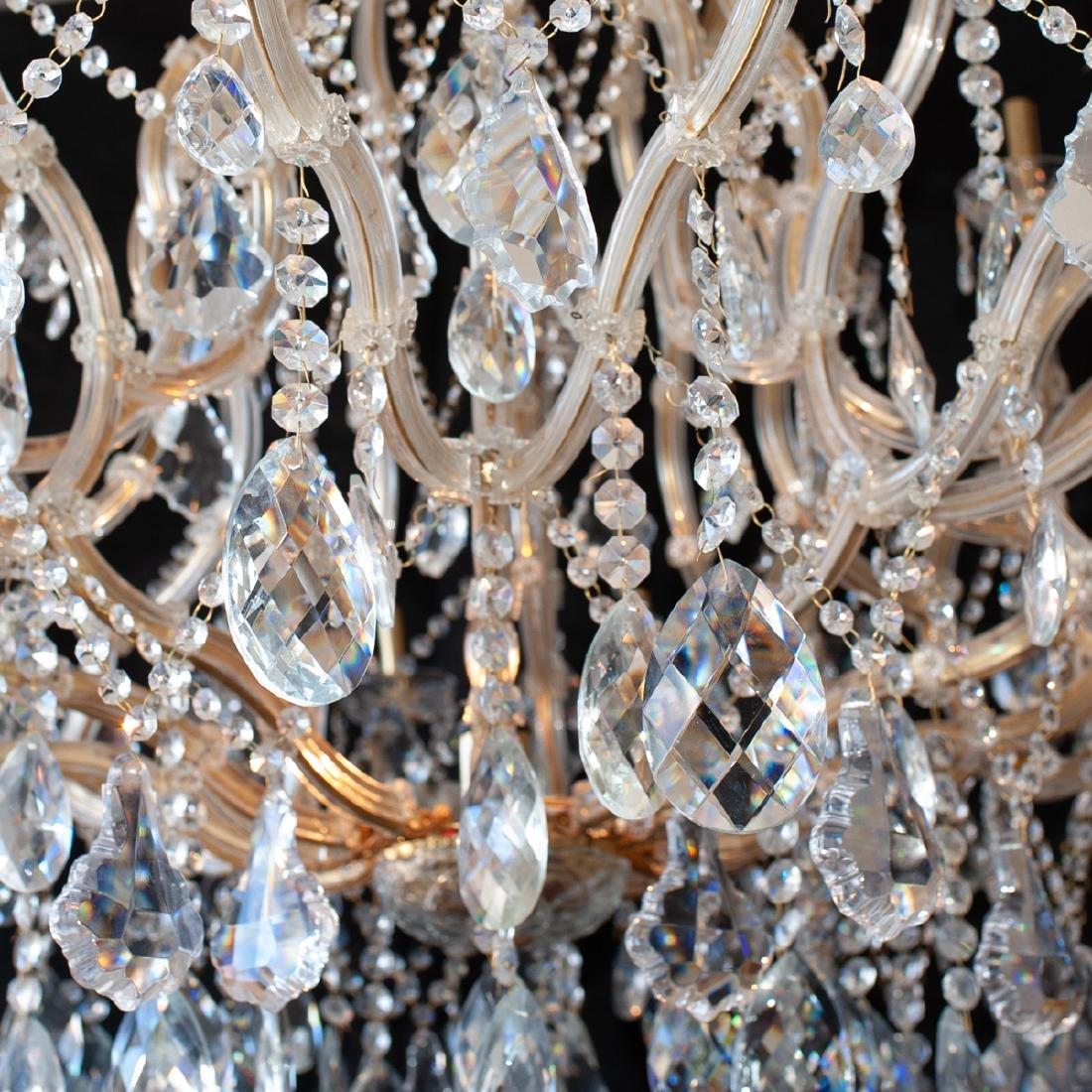 Monumental Crystal Chandelier - 2