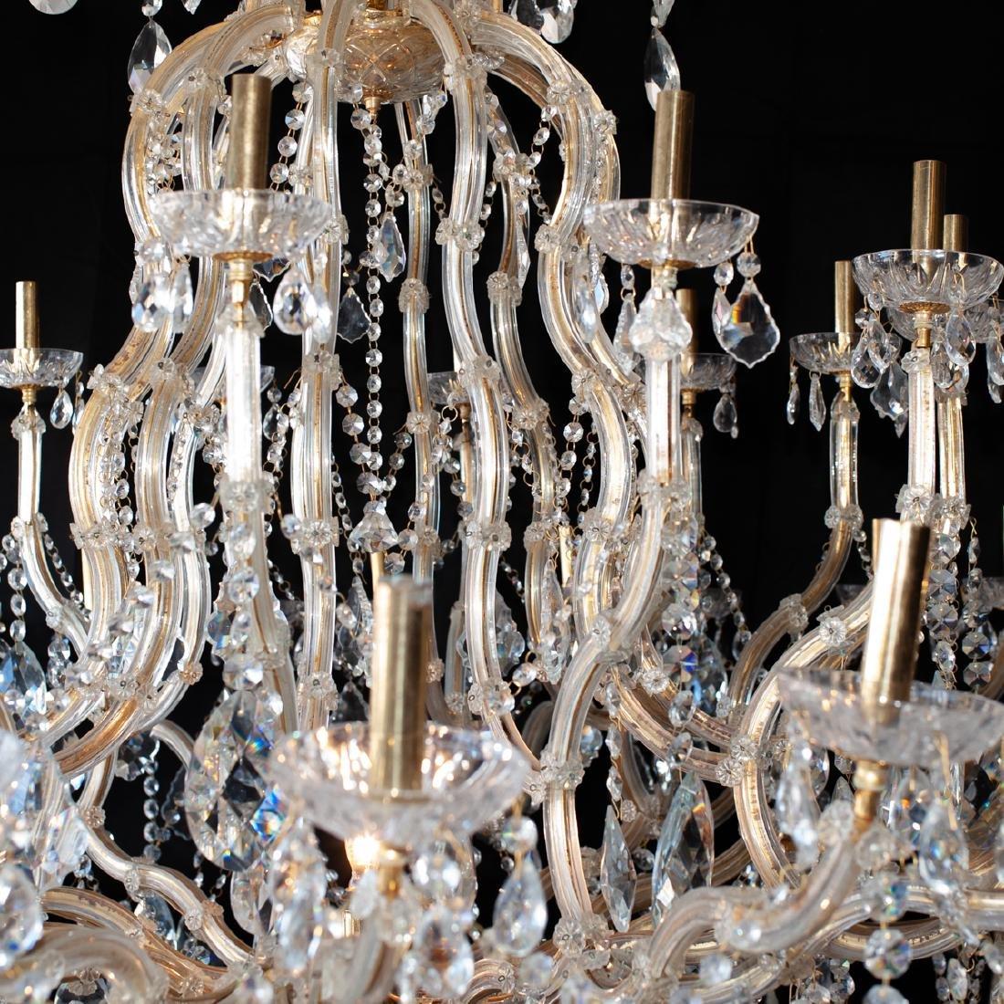 Monumental Crystal Chandelier - 3
