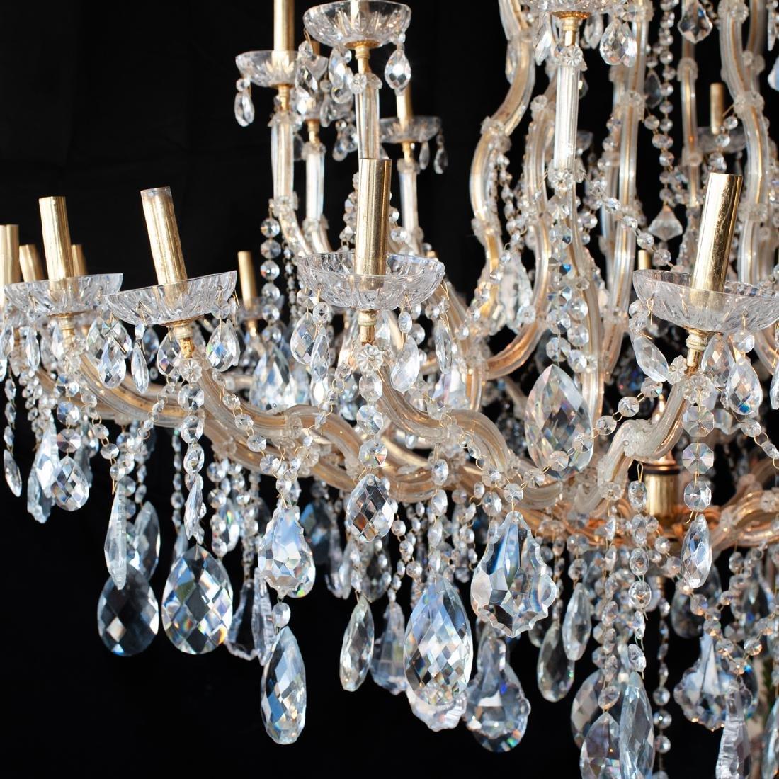 Monumental Crystal Chandelier - 4