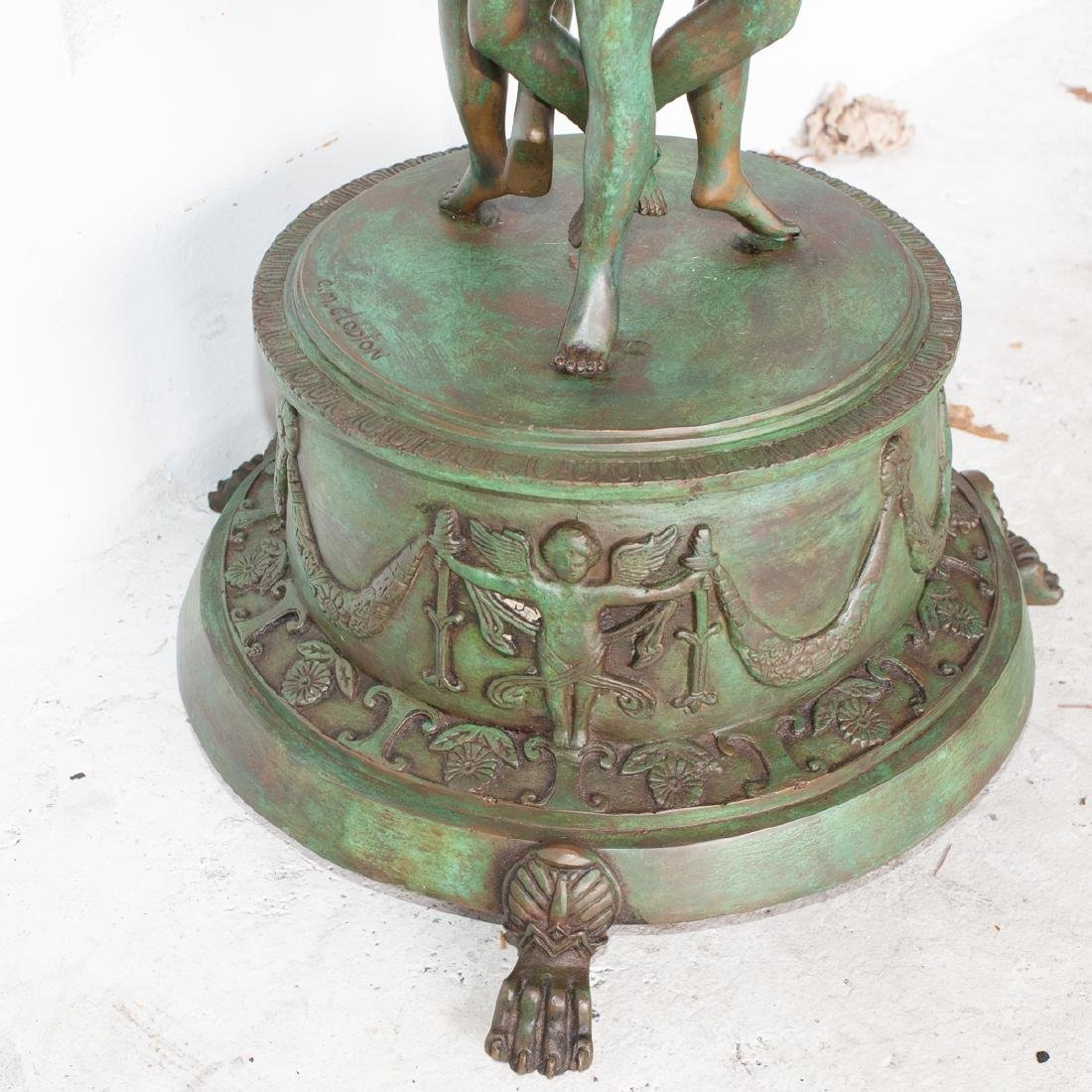 Attributed To Claude Michele Clodion Bronze Planter - 4