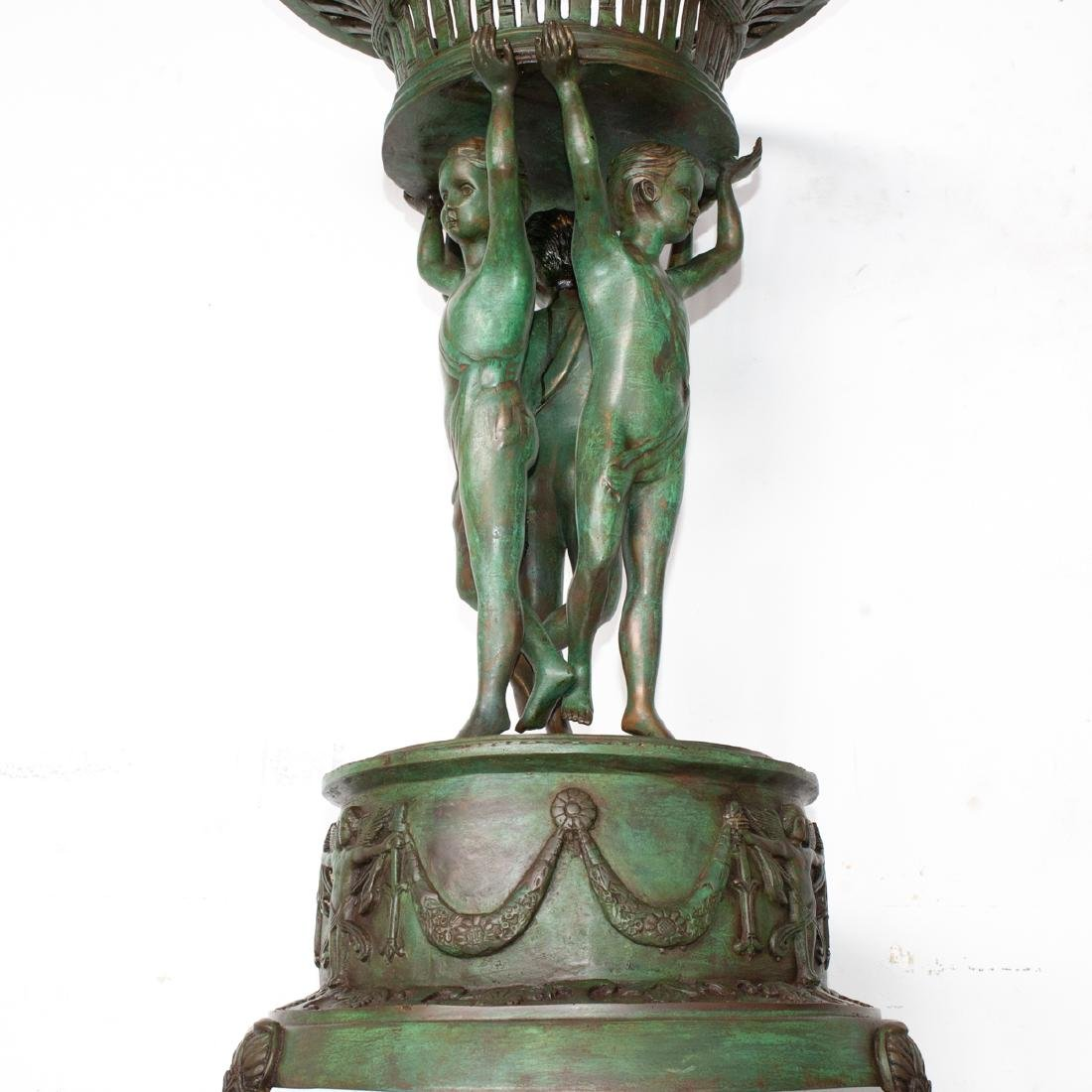 Attributed To Claude Michele Clodion Bronze Planter - 5