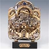 Frank Meisler jerusalem sculpture