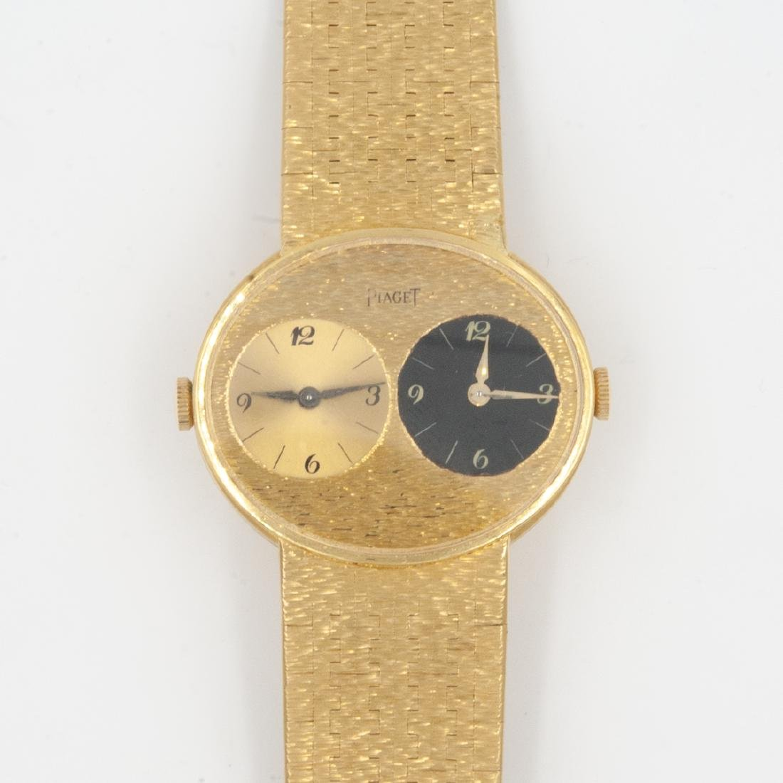 Vintage Piaget dual time watch