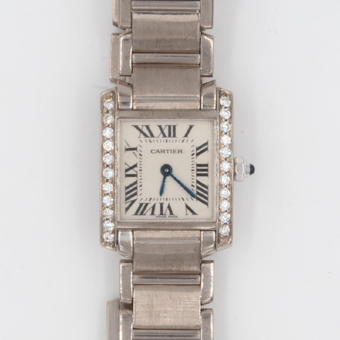 18k Gold Cartier Ladies Watch