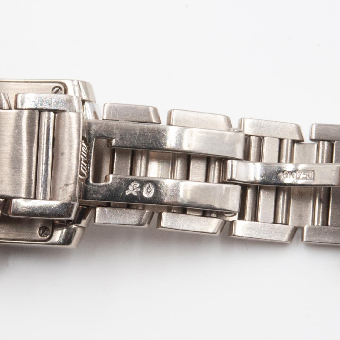 18k Gold Cartier Ladies Watch - 4