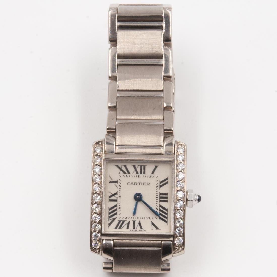 18k Gold Cartier Ladies Watch - 6