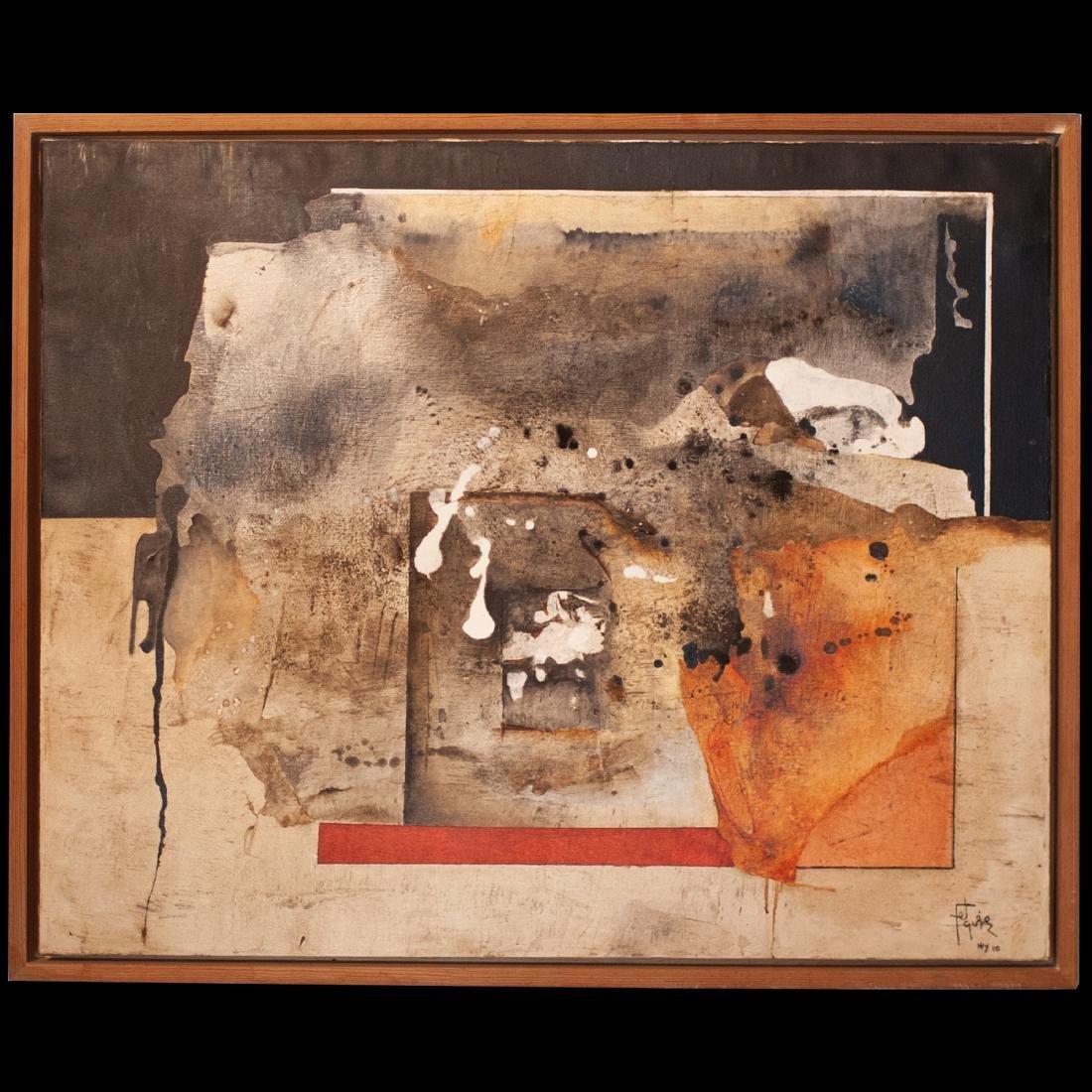 Manuel Felguerez (Mexican. 1928-Present) Oil Painting