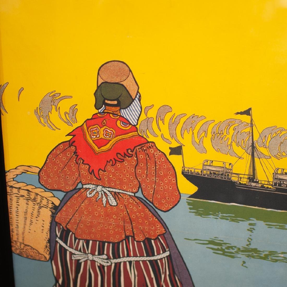 Henri Cassiers (Belgian, 1858-1944) poster - 3