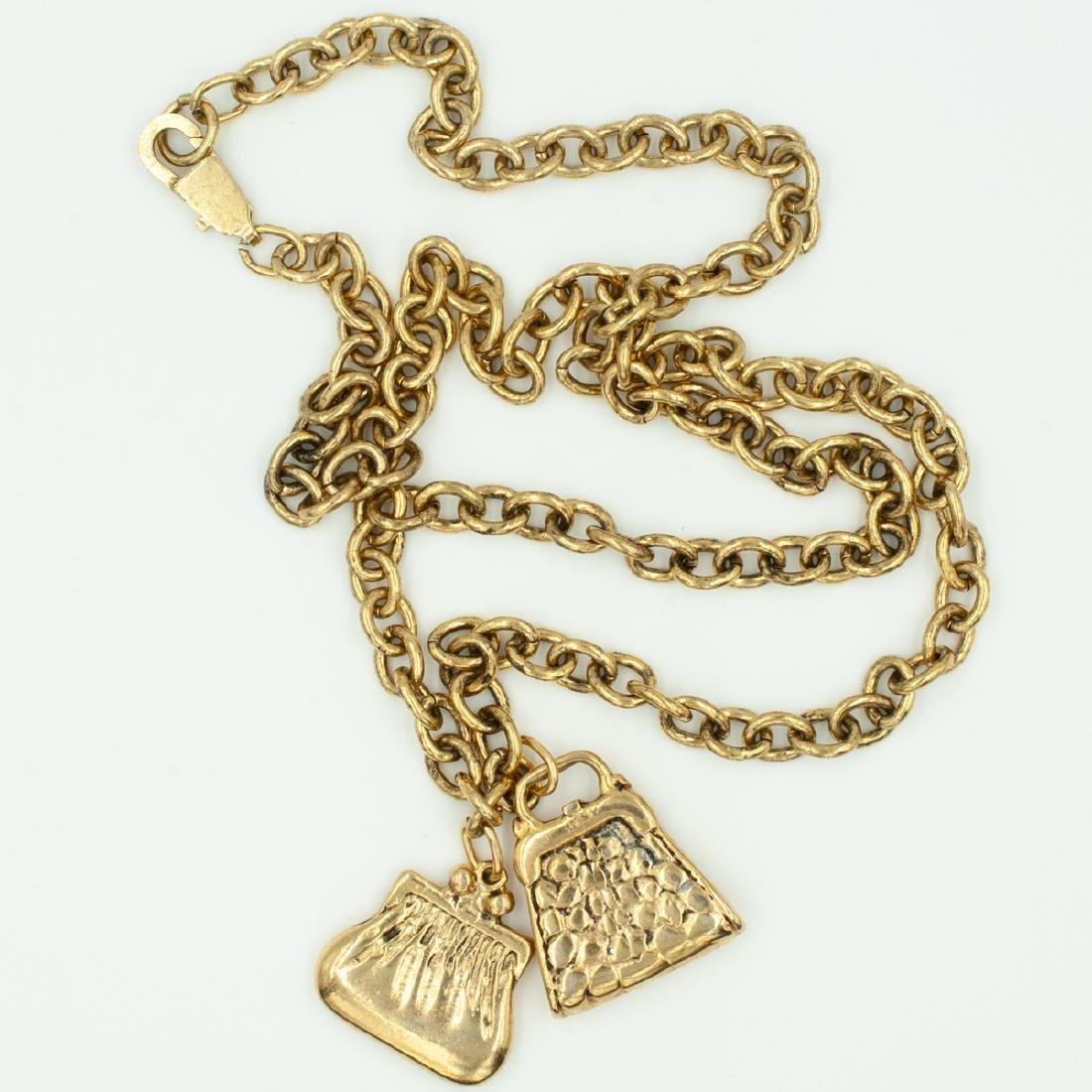 Costume Jewelry Purse Chain - 3