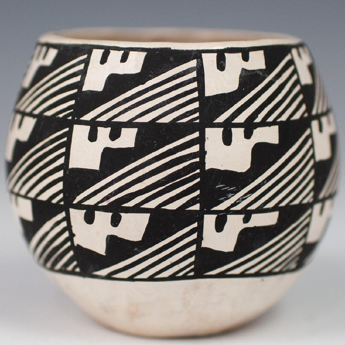 (4 Pc) Lot Of Vintage Acoma Pottery - 2