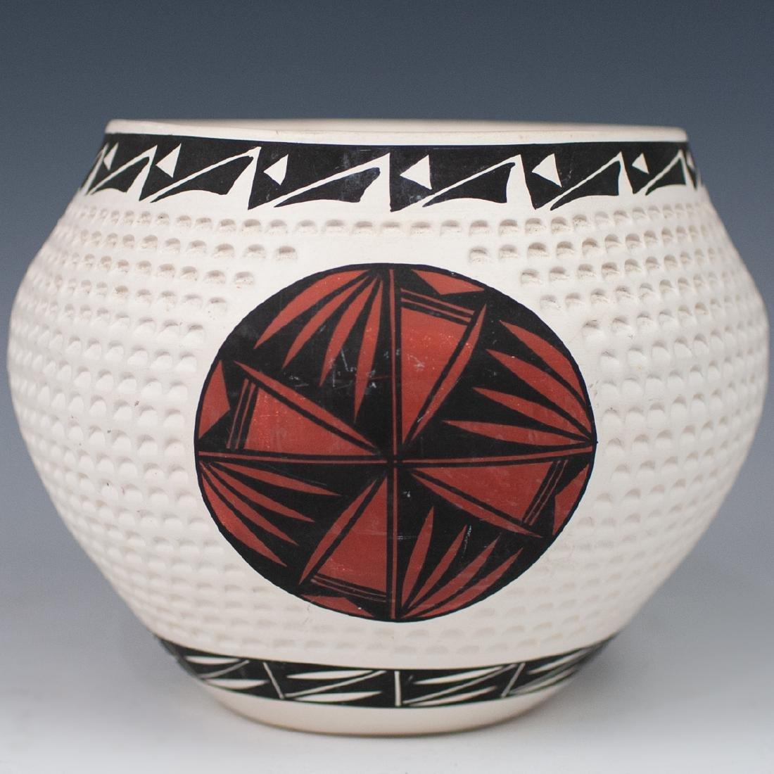 (4 Pc) Lot Of Vintage Acoma Pottery - 4